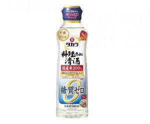 タカラ「料理のための清酒」糖質ゼロ500mlらくらく調節ボトル