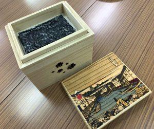 山本海苔店特製「焼きのり箱」
