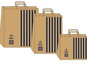 はるまや紙製ショッピングバッグ