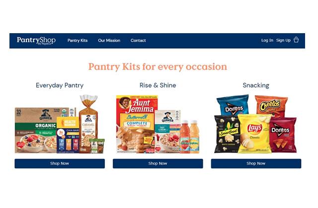 ペプシコのPantryShop.com