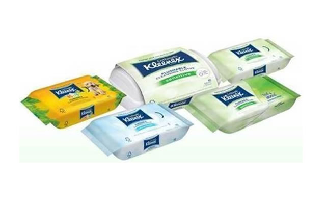 Kleenex Cottonelle toilet wipes