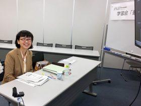 食品安全委員会リスコミ官秋元京子さん講演