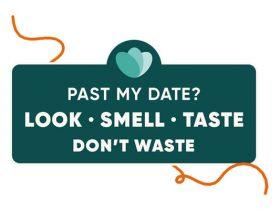 「Look、Smell、Taste、Don't Waste