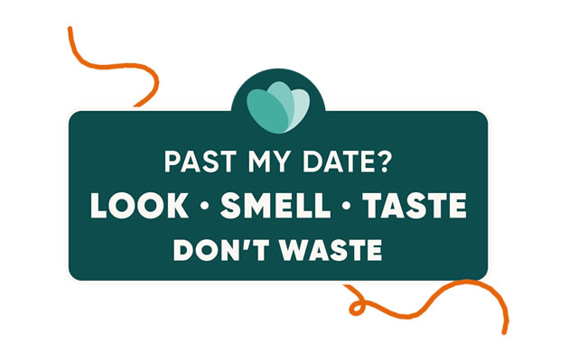 Look、Smell、Taste、Don't Waste
