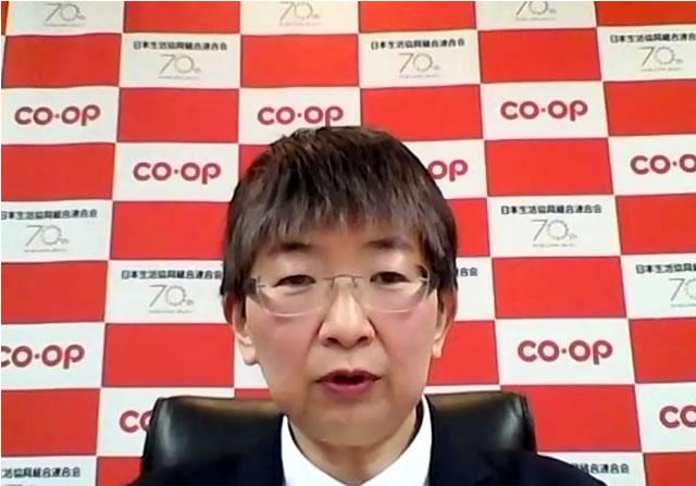 日本生協連二村睦子常務執行役員