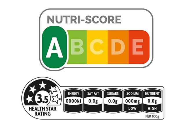 栄養評価ラベル