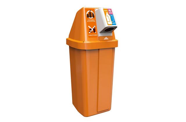 下向き投入口による脱ゴミ箱